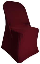 Burgundy Folding Chair Cover