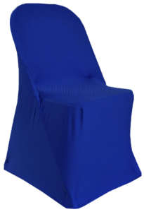 Royal Blue Folding Chair Cover
