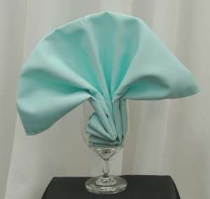 Aqua/Tiffany Blue Poly Napkin