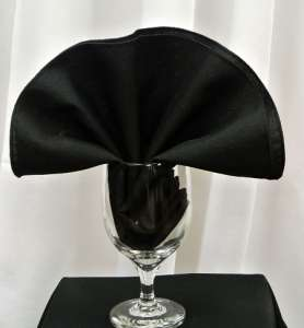 Black Poly Napkin