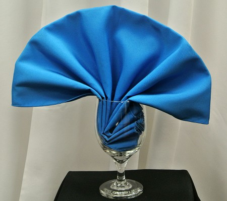 Cobalt Poly Napkin