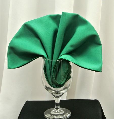 Emerald Poly Napkin