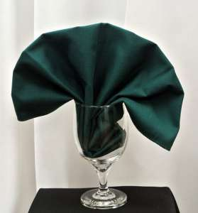 Green Poly Napkin