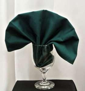 Green Poly Napkin