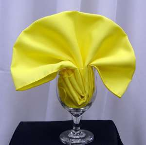 Lemon Poly Napkin