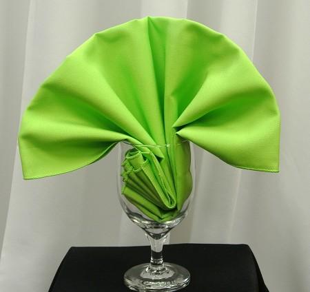 Lime Poly Napkin