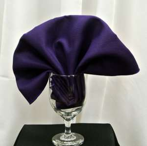 Purple Poly Napkin