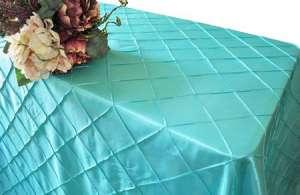 Aqua/Tiffany Blue 90″ x 156″ Pintuck