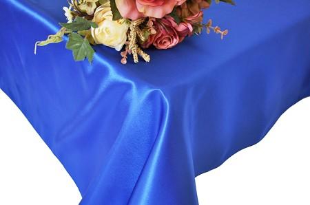 Royal Blue 90″ x 156″ Satin