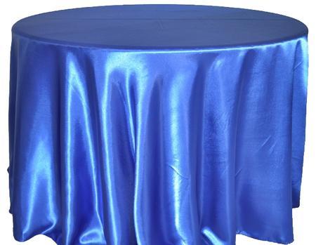 Royal Blue 120″ Round Satin