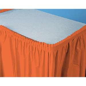 Vinyl Skirt 13.5′ – Tangerine