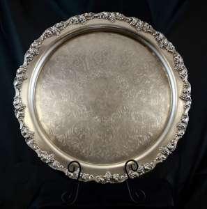 Silver, Round 16″