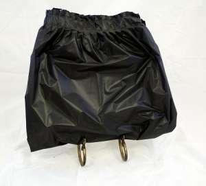 Vinyl Skirt 13.5′ – Black