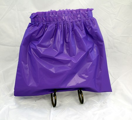 Vinyl Skirt 13.5′ – Purple