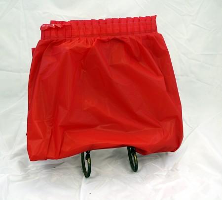 Vinyl Skirt 13.5′ – Red